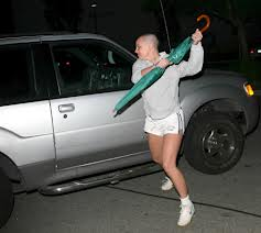 "After shaving her head, Britney Spears had this ""umbrella incident."""