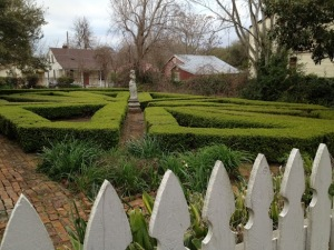 Boxwood Garden, Natchez