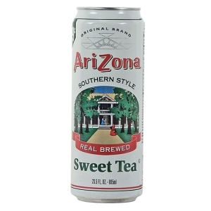The original image of AriZona's Southern Style Sweet Tea featured an antebellum plantation.