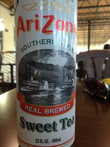 Southern Style Sweet Tea from AriZona by way of Brooklyn, NY.