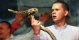 Pastor Andrew Hamblin is part of a new generation of snake-handling ministers.