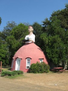 Mammy's Cupboard is located on Highway 61 on the outskirts of Natchez, MS