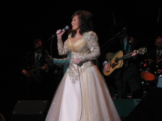 Loretta Lynn, Charlotte, NC, March 2011.