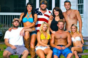 "The cast of CMT's ""Party Down South"""