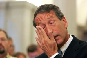 Mark Sanford's declaration of love for his mistress at a 2009 press conference.