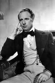 Leslie Howard as Ashley Wilkes in Gone with the Wind
