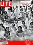 Debutantes in Charlotte, NC, 1951.
