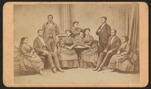 Fisk University Jubilee Singers performed