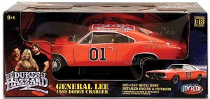 The General Lee in Die-Cast.