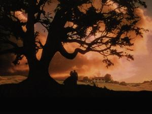 Still shot from Gone with the Wind.