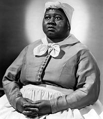 "Hattie McDaniel as ""Mammy"" in GWTW."