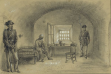 The martyrdom of Jeff Davis began to take shape during his imprisonment at Fort Monroe in Va.
