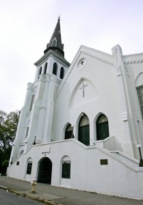 Emanuel AME Church in Charleston, SC. Photo credit: Post and Courier.